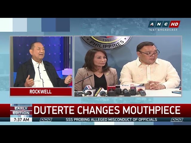 Roque needs access to Duterte with new spokesman role: Ermita