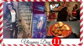 ❄ VLOGMAS 2015 ❄ Day 11 ❄ Onesies, FOOD & Heads Up!