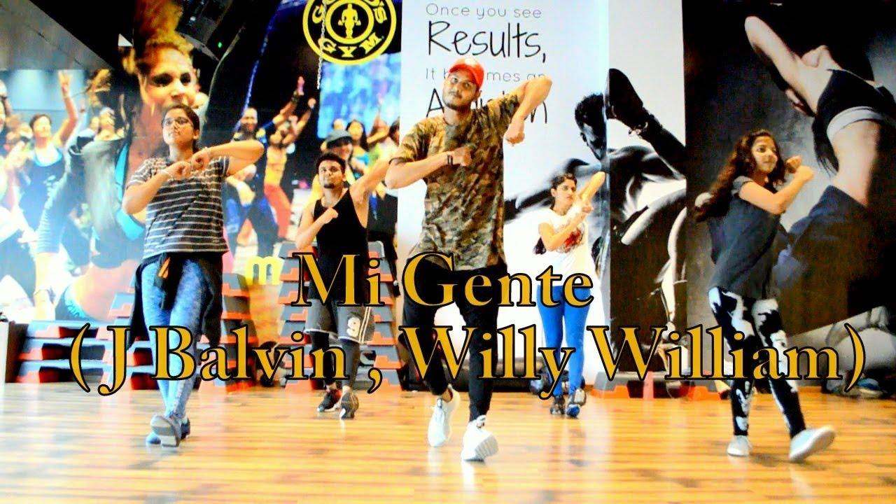 J Balvin Willy William Mi Gente Official Video Choreography By Ajinkyasingh Aka Aj