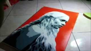 Multi Layer Stencil Khaleesi