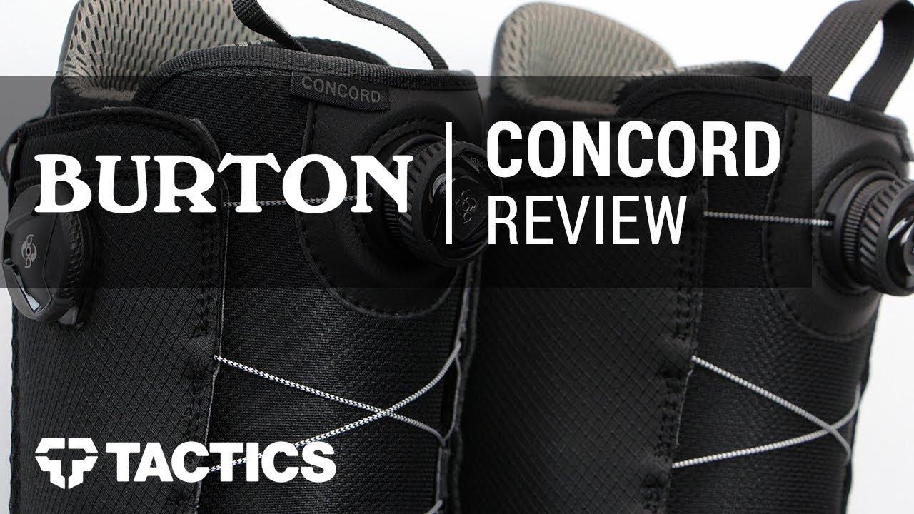 64c8b19ada Burton Concord Boa 2018 Snowboard Boot Review - Tactics.com