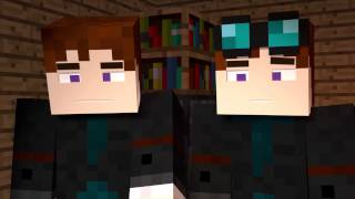 MY BROTHER PLAYS MINECRAFT - DanTDM - Minecraft Animation