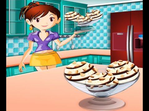 juegos de cocina con sara helado de vainilla youtube