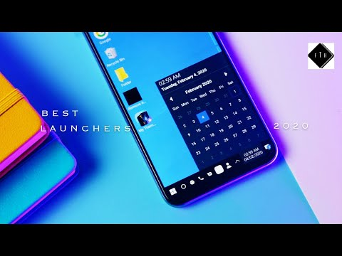 TOP 10 ANDROID LAUNCHERS  2020! Best Of The Best.