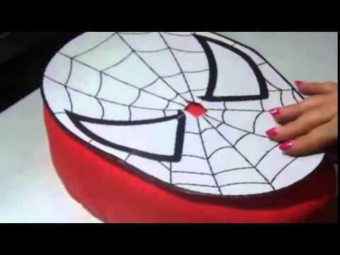 recette spiderman cake gateau en pate a sucre youtube youtube. Black Bedroom Furniture Sets. Home Design Ideas