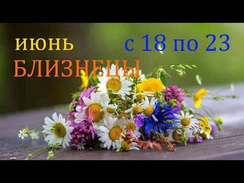 БЛИЗНЕЦЫ. ГОРОСКОП на НЕДЕЛЮ с 18 по 23 ИЮНЯ 2019г.