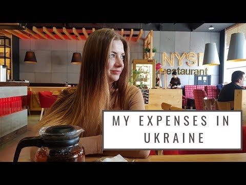 Cost of living in Ukraine. My monthly expenses