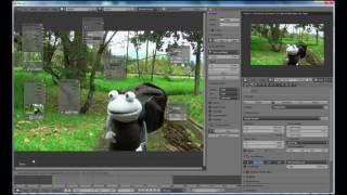 Blender-  Video Background Extension