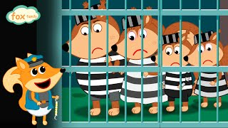 The Fox Family and Friends cartoon for kids new funny season #791