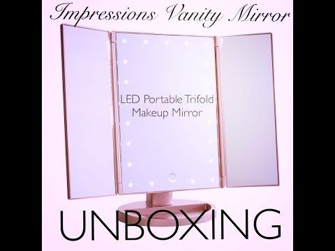 Impressions Vanity Makeup Mirror Unboxing