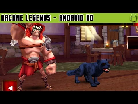 Arcane Legends - Gameplay Android HD / HQ Audio (Android Games HD)