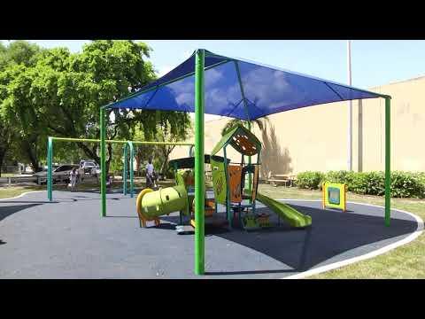 City of Miami - New Playground in Little Haiti
