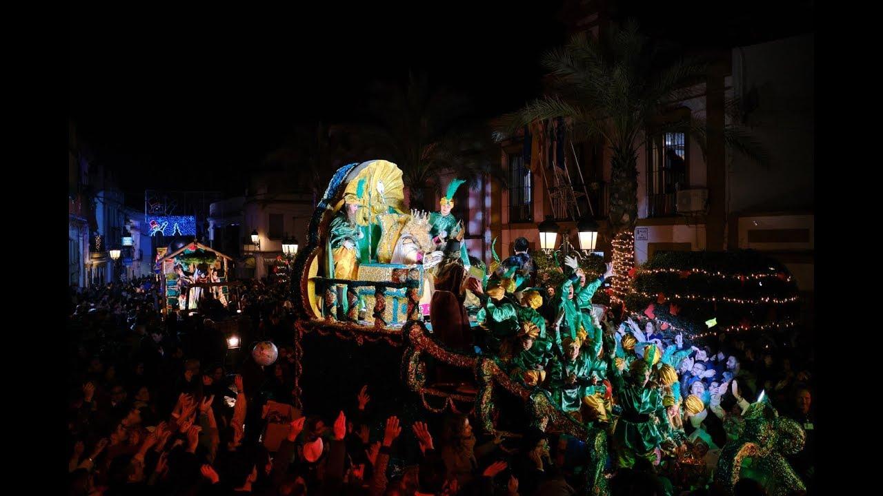 Cabalgata de Reyes Magos de Gines 2019 (COMPLETO)