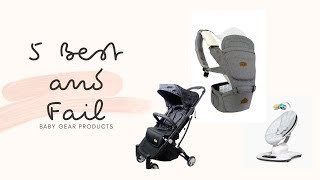 My 5 Best and Fail Baby Gear Products | Philippines | Marga Diaries