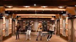 Toma Reggaeton-Zumba Fitness #FDCRUISE14 Fitness Dance Cruise COSTA FASCINOSA