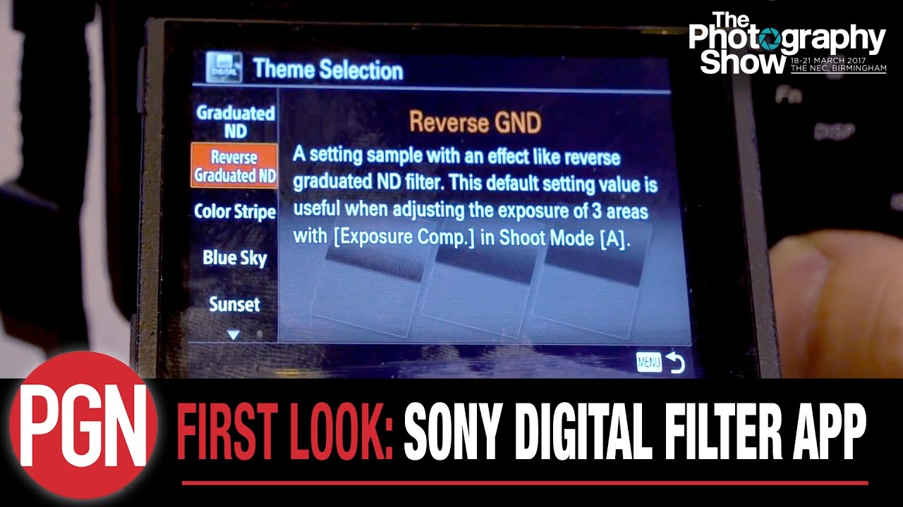 first look sony digital filter app for alpha and rx series cameras