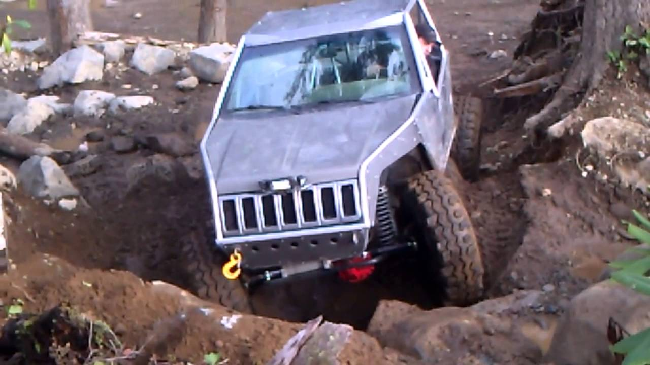 Mike S Grand Cherokee Buggy On The Rocks Tahuya Youtube