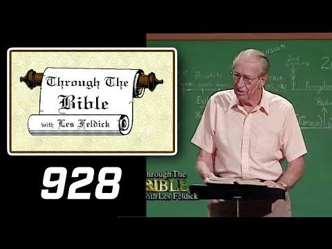 [ 928 ] Les Feldick [ Book 78 - Lesson 1 - Part 4 ] Christ as the Rock of Scripture |d