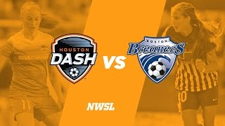 Houston Dash vs Boston Breakers full match