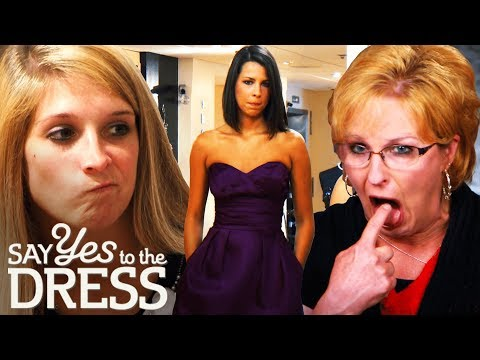Bride & Mother in Law Clash Over Bridesmaid Dresses! | Say Yes To The Dress Bridesmaids. http://bit.ly/2JHxj9e