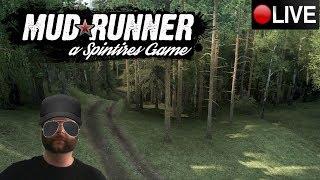 "SPINTIRES MUDRUNNER 2.0 || MOD MAPA || MAPA ""VEINTE"" || LOW RIDER GAMES LIVE"