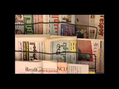 Rubio newspaper seller Rabat Morocco