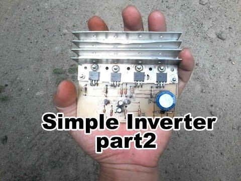 Cara Simpel Membuat Inverter - part2