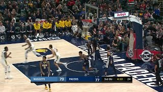 3rd Quarter, One Box Video: Indiana Pacers vs. Denver Nuggets
