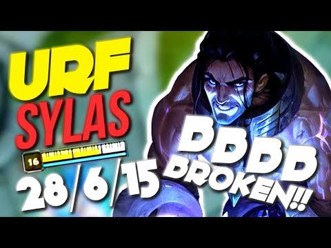 URF SYLAS HAS NO COUNTERPLAY !! INFINITE HEALS AND SHIELDS !! 80% CDR - Sylas Urf Gameplay