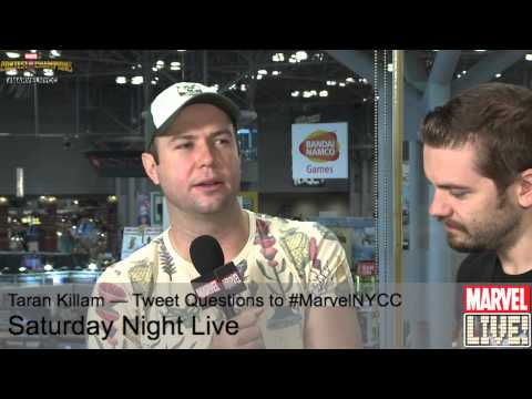 Taran Killam Does Some Amazing Character Impressions on Marvel LIVE! at NYCC 2014