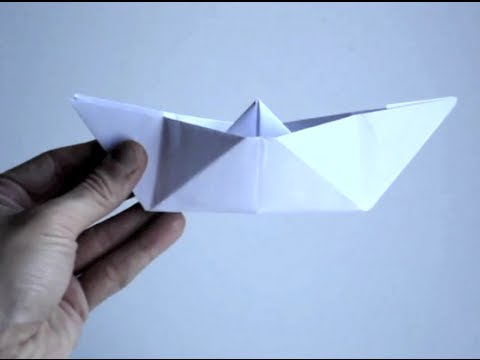 How to Make a Paper Boat: 10 Steps (with Pictures) - wikiHow | 360x480