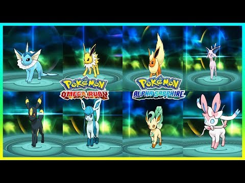 Pokemon OmegaRuby & AlphaSapphire - How to Get Eevee & Evolve It!