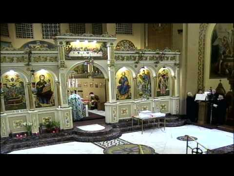 Judgment Sunday Divine Liturgy  2-19-17 at Assumption Panagia Greek Orthodox Church Chicago, IL