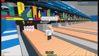 A Tour At Roblox Bowling Center