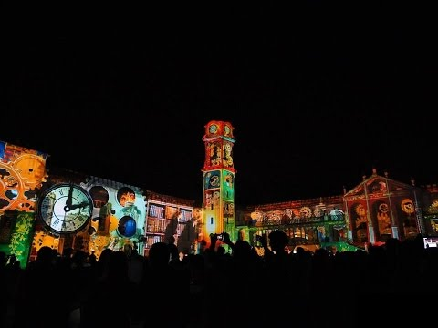 Video Mapping - Universidade de Coimbra - 725 anos UC
