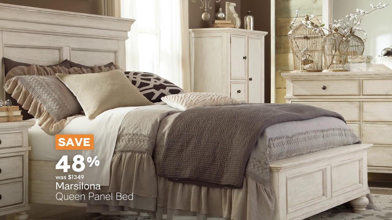 memorial day furniture sale ashley homestore youtube. Black Bedroom Furniture Sets. Home Design Ideas