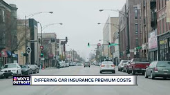 Study on differing car insurance premium costs
