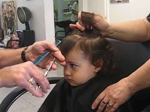 first haircut girl baby s hair cut 3394 | hqdefault