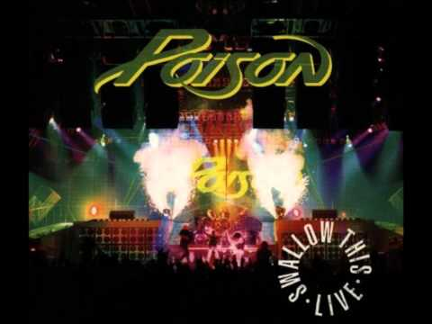 Poison - 9. Drum Solo - Swallow This Live 1991 -...