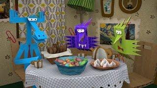 Мультфильм про оригами - По ту сторону земли - новая серия 36