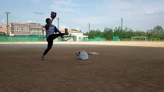 명진고등학교  소프트볼  투수