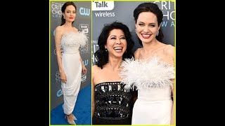 Angelina Jolie Has a Girls' Night Out at Critics' Choice Awards 2018!