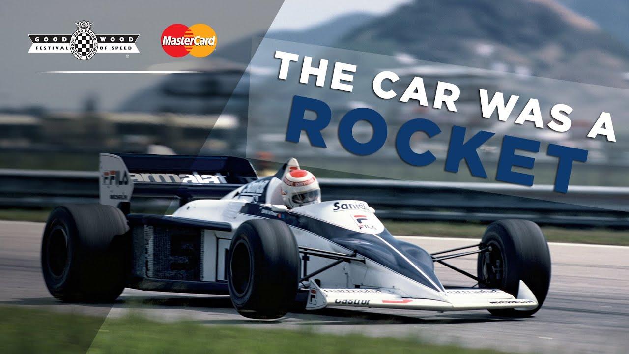 "Patrese\'s ""Rocket"" F1 Brabham BMW BT52 - YouTube"