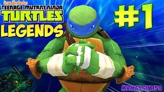 �������� ���� Черепашки Ниндзя: Легенды - Прохождение #1 (Леонардо Идёт Спасать Братьев !) ������
