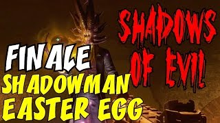 "THE SHADOWMAN EASTER EGG FINALE ★ ""Saving the World AGAIN!"" BO3 ZOMBIES: Shadows of Evil"