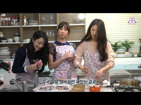 [ENG SUB]Nine Muses Cast EP1: Pepero Day