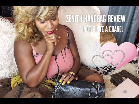 Zenith Handbag Review | Not Quite A Chanel