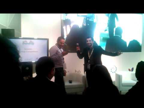 Qatar Innovation Theater 2012 ( Scrab Yard Online Innovative Idea)