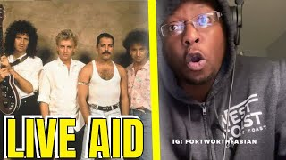 HIP HOP Fan REACTS To QUEEN - Full Concert Live Aid 1985 - FullHD 60p | QUEEN REACTIONS