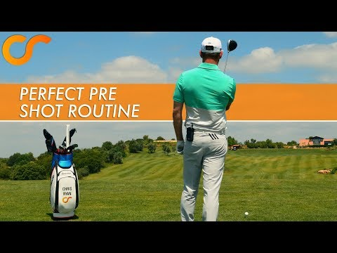 GET A PERFECT GOLF PRE SHOT ROUTINE